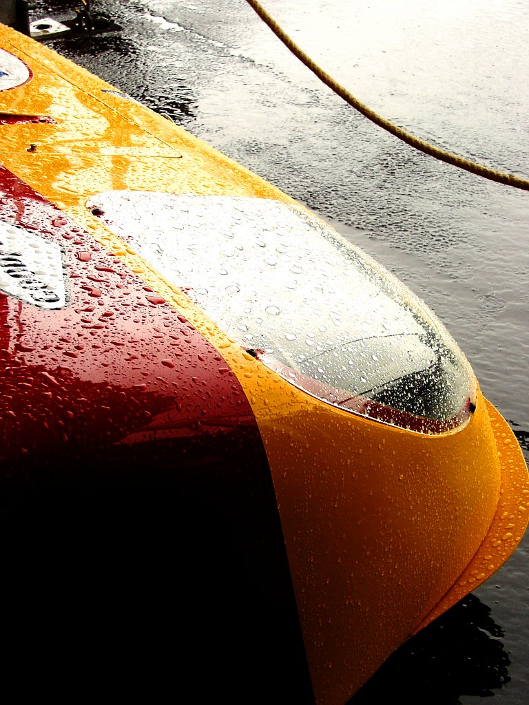 Pluie - Le Mans Classic 2012