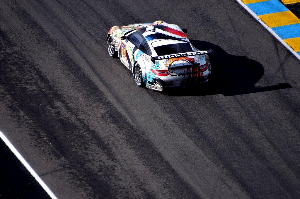 Porsche 911 GT3 RSR - Team 75 - 24 Heures du Mans 2014