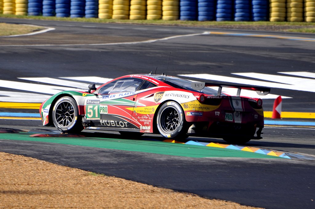 FERRARI 458 ITALIA - N°51 - 24 Heures du Mans 2014