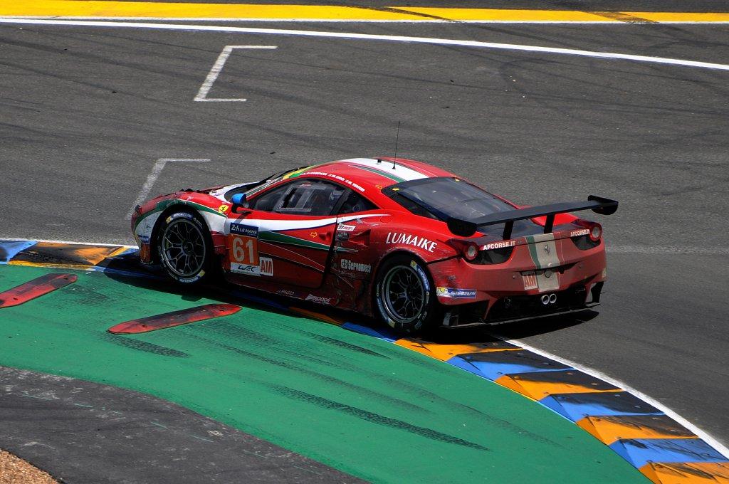 FERRARI 458 ITALIA - N°61 - 24 Heures du Mans 2014